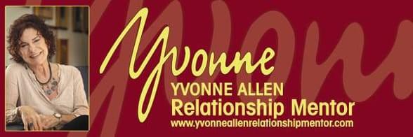 Yvonne Allen's headshot and logo