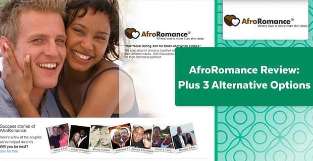 AfroRomance Review (Plus 3 Alternative Options)