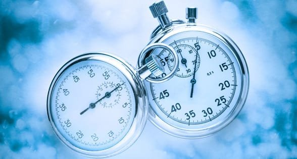 Photo of two stopwatches