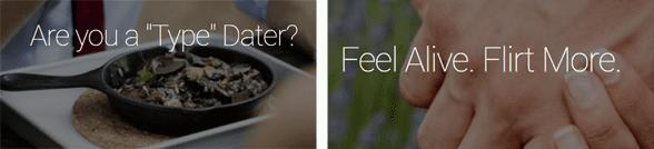 Screenshot of Mutual Match blog topics