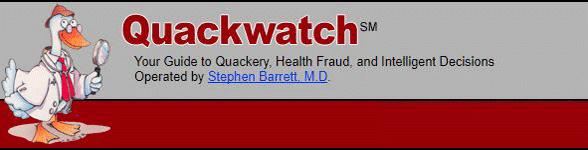 Photo of the Quackwatch logo