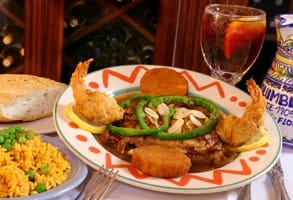 Photo of the red snapper alicante served at the Columbia Restaurant