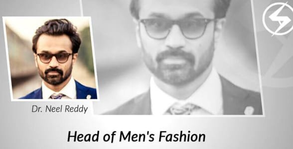 Photo of Dr. Neel Reddy, Head of Men's Fashion for Social Attraction