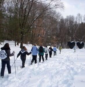 Photo of a Snowshoe Tour at deCordova