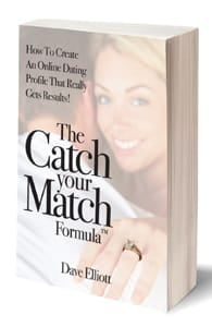 The Cover of The Catch Your Match Formula by Dave Elliott