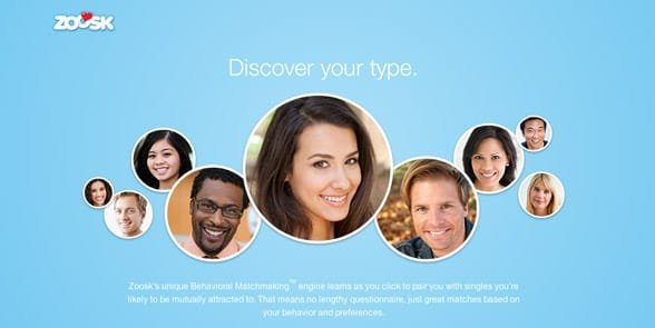 Photo of Zoosk members