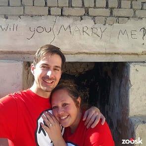 Photo of Natasha and Jared, a Zoosk success story