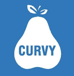 The Curvy app logo