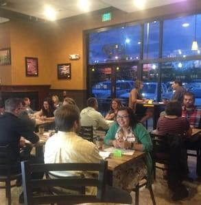 Photo of a Denver Catholic Speed Dating event
