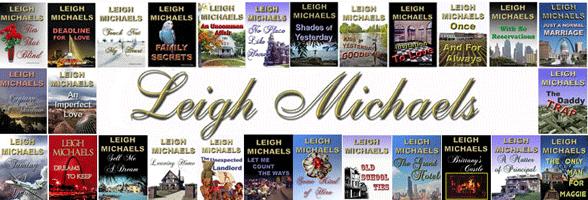 Screenshot from Leigh Michaels' website