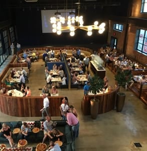 Photo of the Jones Assembly's main dining hall