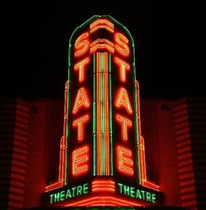 Photo of the State Theater in Ann Arbor