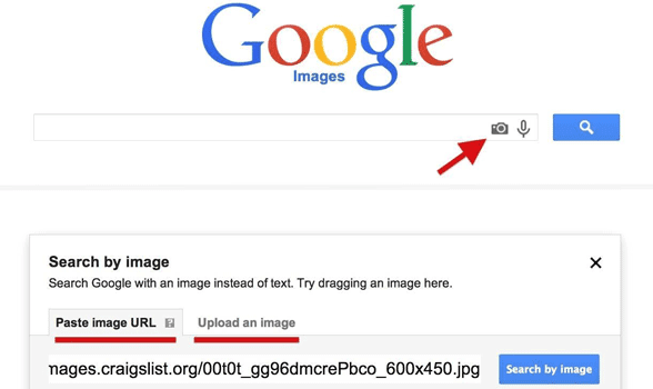 Photo of Google's Reverse Image Search