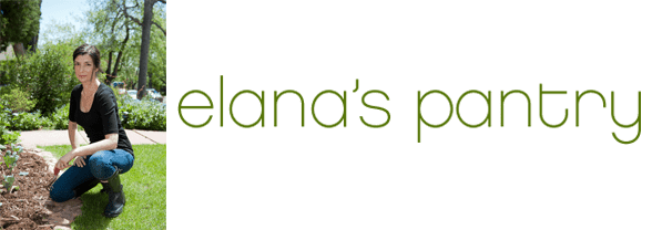 Photo of Elana Amsterdam and the Elana's Pantry logo