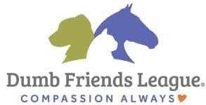 Photo of the Dumb Friends League logo