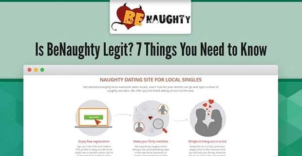 Is Benaughty Legit