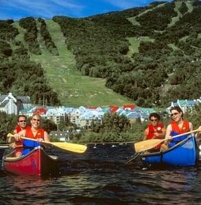 Photo of kayakers on Lake Tremblant