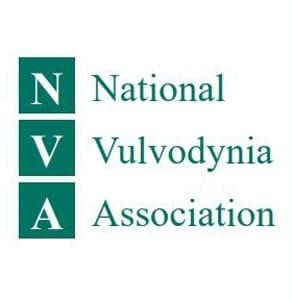 Photo of the National Vulvodynia Association logo