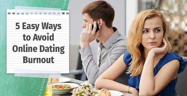 Online Dating Burnout