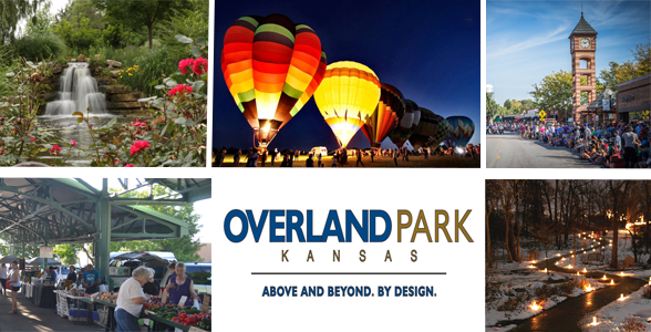 Collage of activities in Overland Park