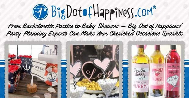 Big Dot Of Happiness Makes Weddings And Other Occasions Sparkle