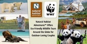 Natural Habitat Adventures™ Offers Eco-Friendly Wildlife Tours Around the Globe for Outdoor-Loving Couples