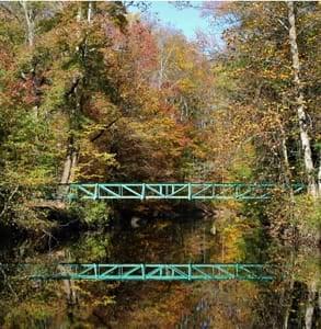 Photo of a bridge at Rittenhouse Park