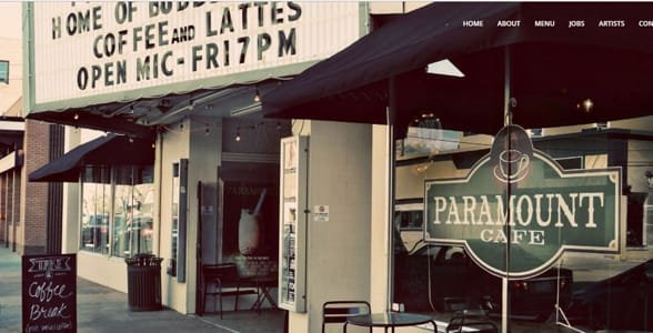 Photo of the Paramount Cafe
