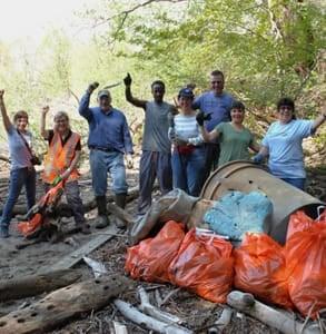Photo of Riverkeeper volunteers