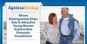 AgelessHookup: Where Distinguished Older Men & Attractive Young Women Explore New Romantic Possibilities