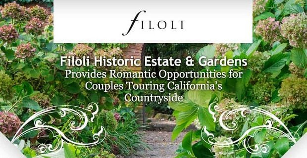 Filoli House And Garden Provides Romantic Opportunities
