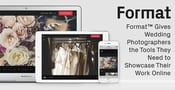 Format™ Gives Wedding Photographers the Tools They Need to Showcase Their Work Online