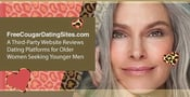 FreeCougarDatingSites.com: A Third-Party Website Reviews Dating Platforms for Older Women Seeking Younger Men