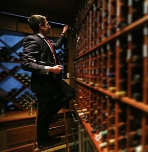 Photo of Brahm Callahan, Master Sommelier at Grill 23