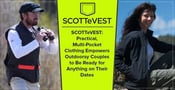 SCOTTeVEST: Practical, Multi-Pocket Clothing Empowers Outdoorsy Couples to Be Ready for Anything on Their Dates