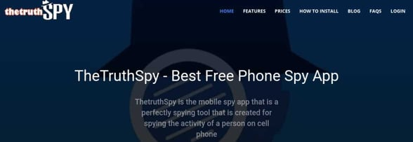 Screenshot of The Truth Spy