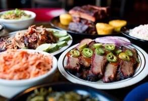 Photo of barbecue food at Dinosaur Bar-B-Que