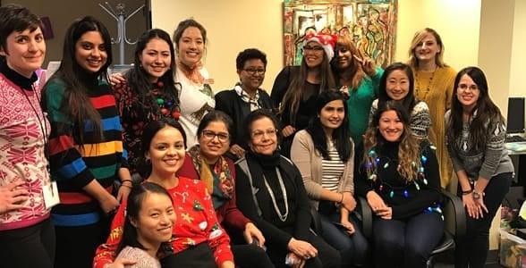 Photo of the Apna Ghar team