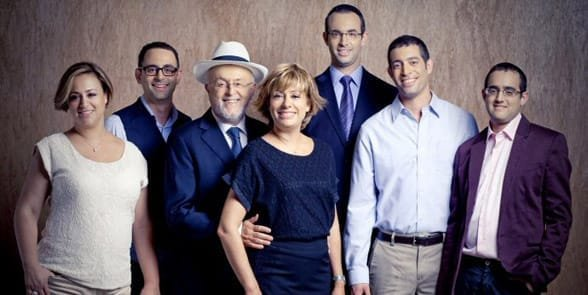 Photo of the Polnauer family