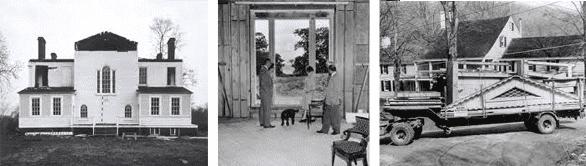 Photos of The Boscobel House through history