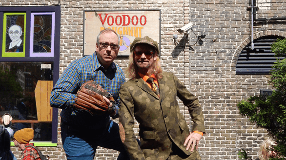 "Photo of Voodoo Doughnut Founders Kenneth ""Cat Daddy"" Pogson and Tres Shannon"