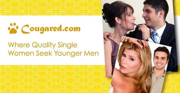 Cougared Where Quality Single Women Seek Younger Men