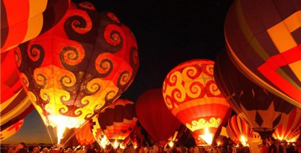 Photo of the Balloon Fiesta Balloon Glow