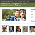 Golf Mad And Looking For Love