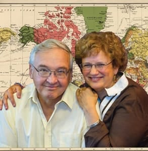 Photo of Drs. Will and Joan Weber, Founders of Journeys International