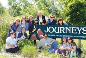 Photo of the Journeys International staff