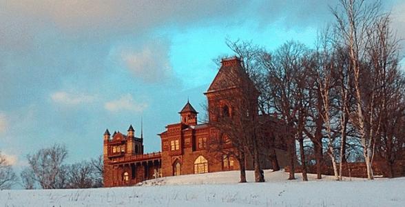 Photo of the Olana house