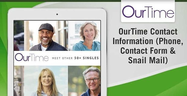 OurTime Contact Information (Phone, Contact Form & Snail Mail)