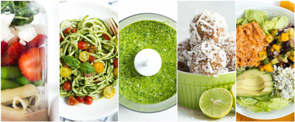 Collage of Spoonful of Flavor recipes