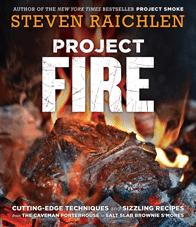 Photo of Steven Raichlen's book Project Fire